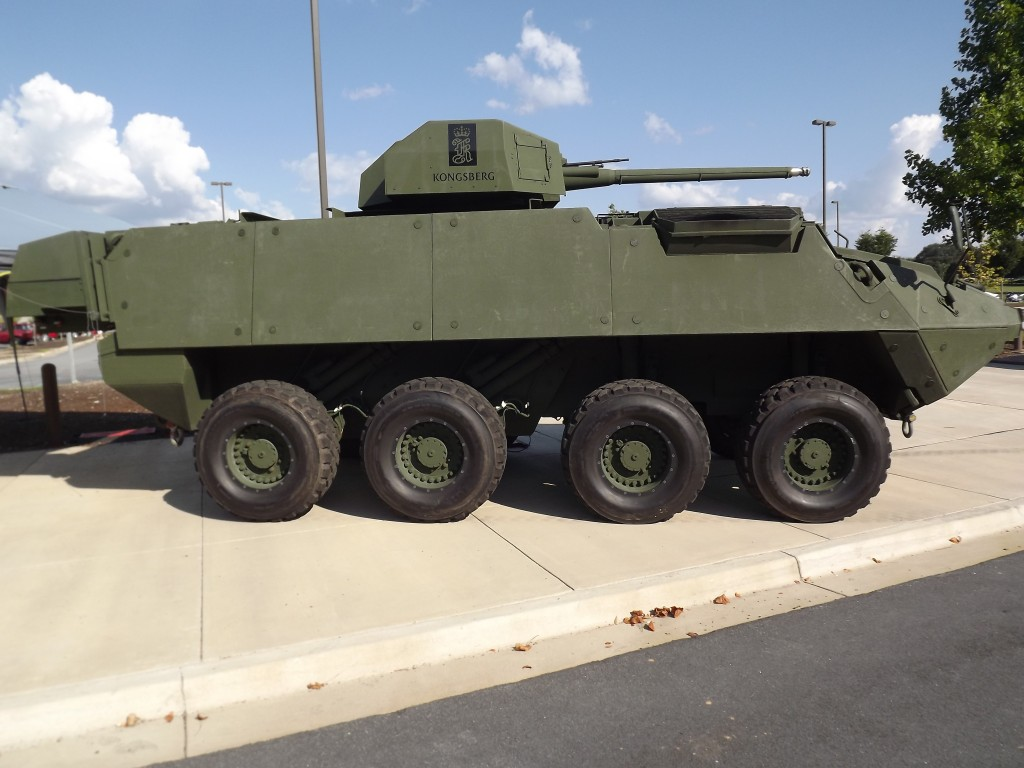 Stryker Test Bed Vehicle Photo by Will Rodriguez