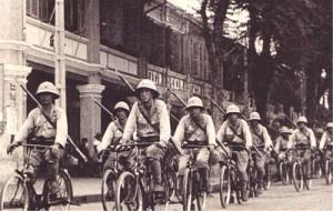 Japanese bike infantry WW2  Photo velocompare.com
