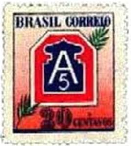 Brazilian postage stamp...