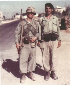 American and Lebanese soldiers. National Archives