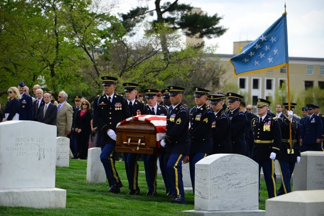 April 17, 2013 Arlington Cemetery (US Army)
