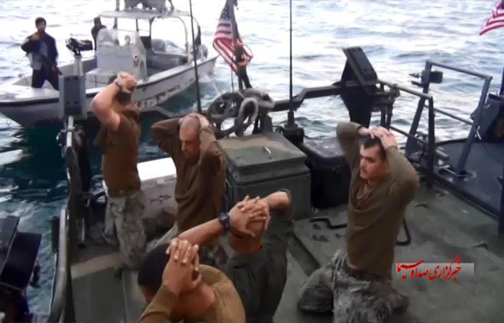 US Sailors captured by Iran