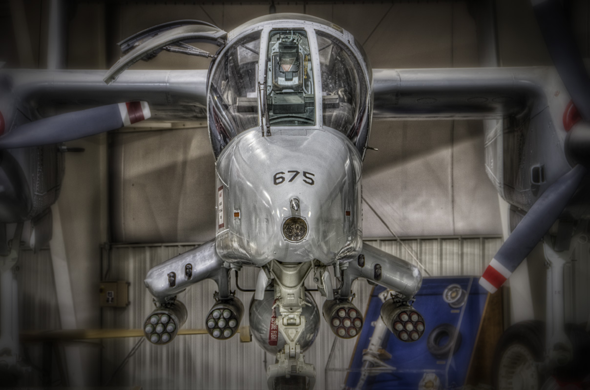 OV-10 at the Hill Aerospace Museum.  Photo courtesy of Howard Jackman