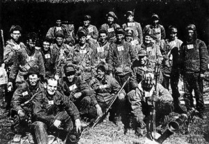 Some members, 31st RCT November 1950