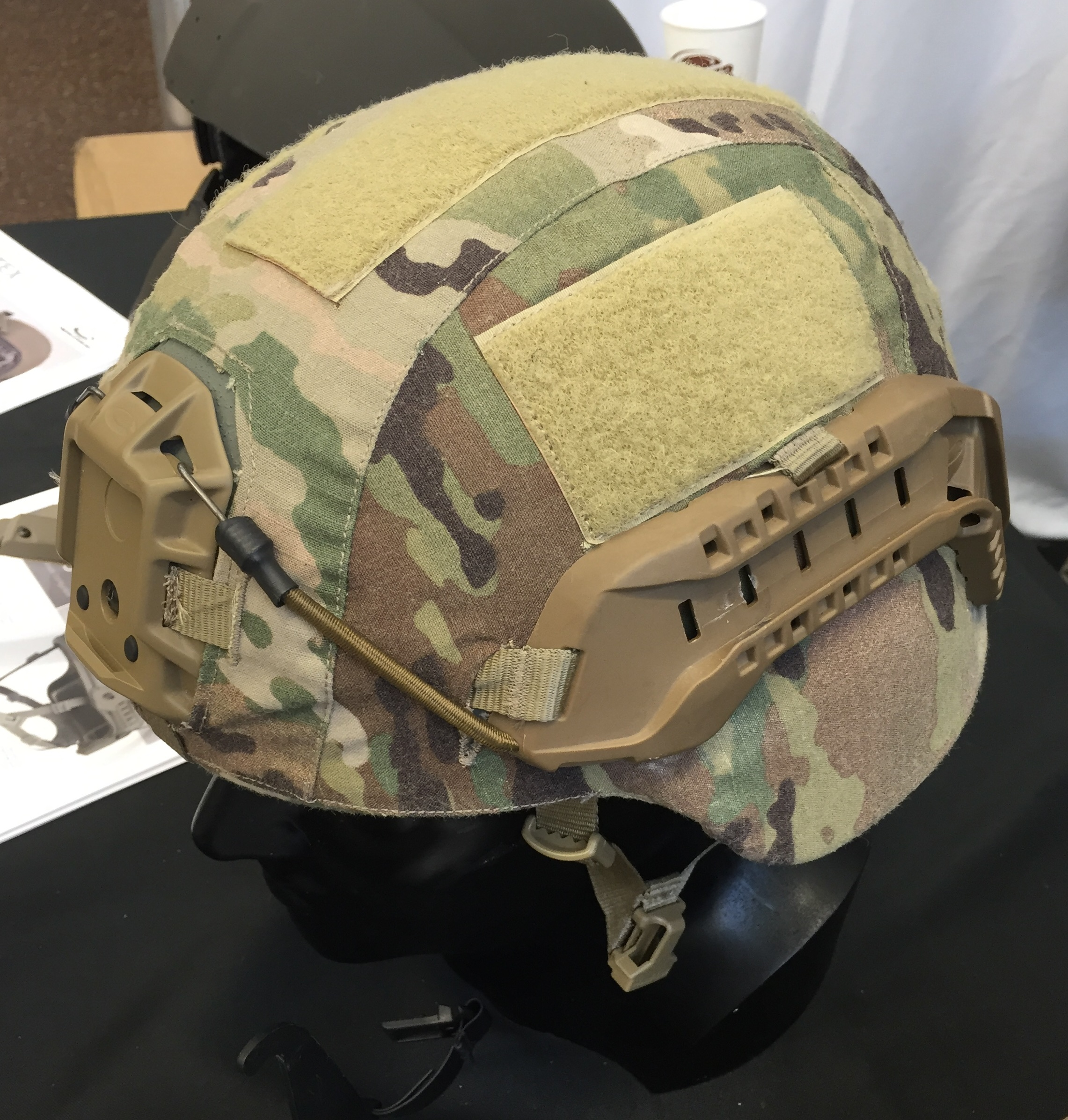 Gentex Mission Configuarble Helmet Cover (MCHC) Photo by Will Rodriguez