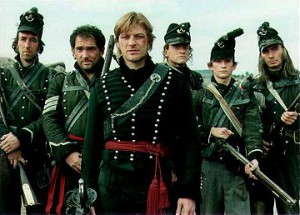 """Rifle Brigade as portrayed in """"Sharpe's Rifles"""""""