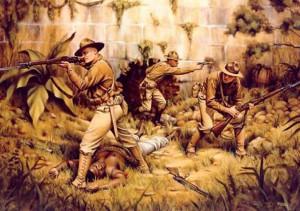 Marines in Haiti, 1915. US Marine Corp