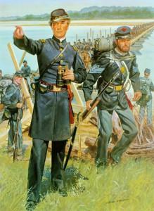 Civil War uniforms. US Army Photo