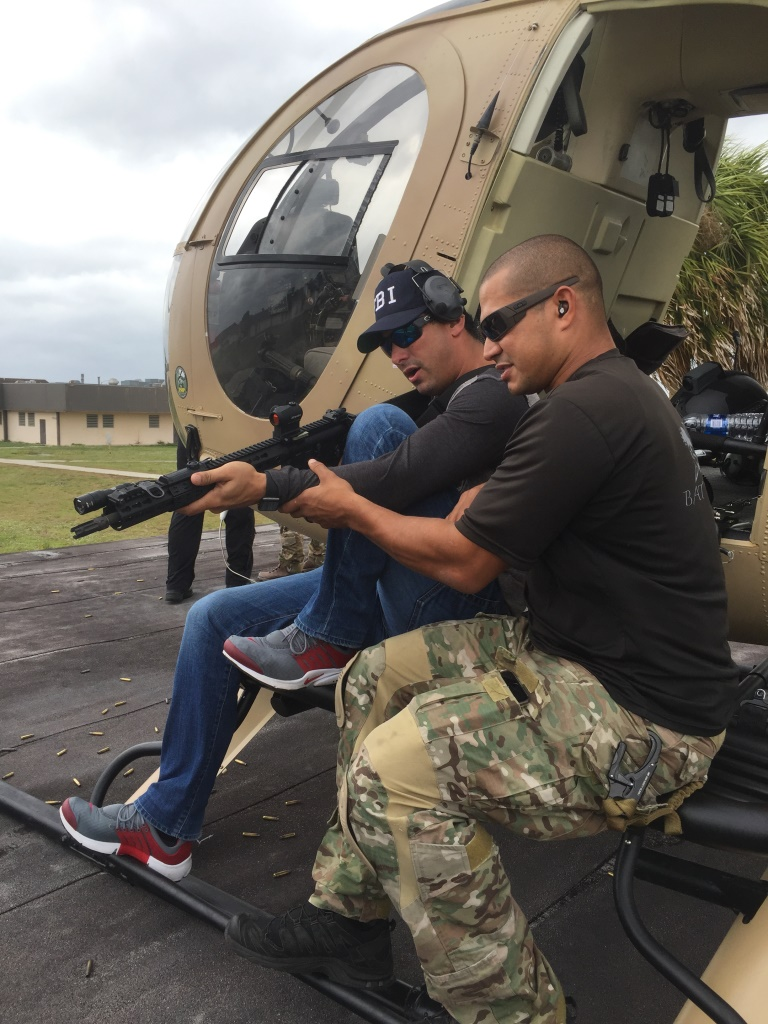 Jeff Cotto coaching a student at BAT Defense's Aerial Target Interdiction Course.  Photo by Will Rodriguez