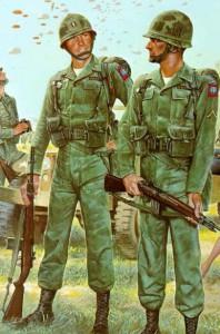 Pre Vietnam U.S. Army Airborne.  US Army