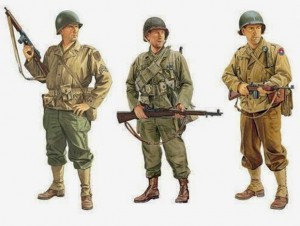 U.S. Army ETO combat uniforms. brainparking.com
