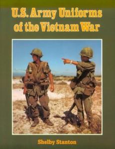Uniform Vietnam us army book