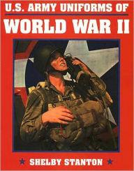 Uniforms U.S. Army ww2 book