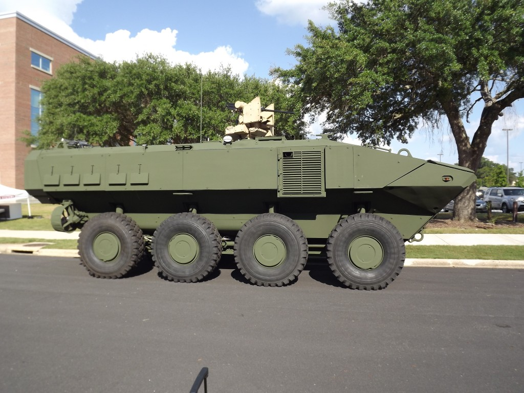 Marine Personnel Carrier Photo by Will Rodriguez