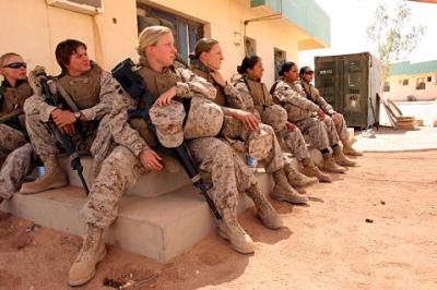 "Marines Graduate ""Infantrywomen"" - Grunts and Co"