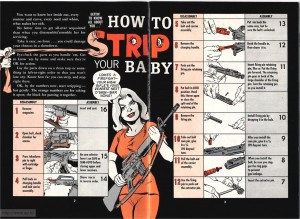 Treat Your Rifle Like a Lady - The Will Eisner M-16 U.S. Army Rifle Maintenance Booklet. Officially known as DA Pam 750-30.
