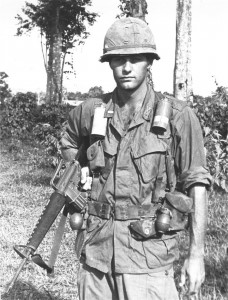 1st LT Thomas K. Holland, D Trp., 1st Sqdn., 9th Cav., Vietnam.  United States Army Heritage and Education Center