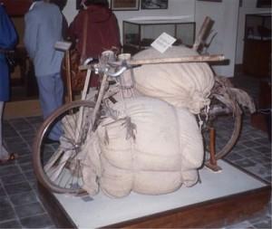Viet Minh transport bike as used at Dien Bien Phu  Photo clemson.edu