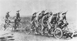 Boer War 'warcycle'  Photo Africana Museum