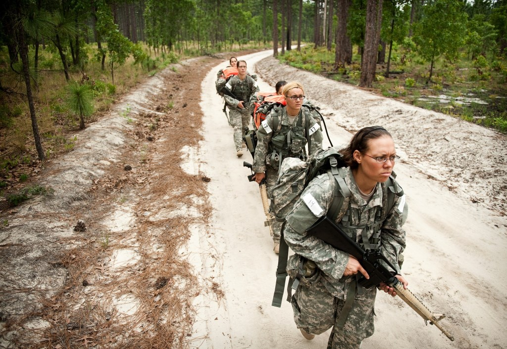 women combat The subject of women in the military was addressed by both political parties at  their national conventions last month, and it's no surprise that.