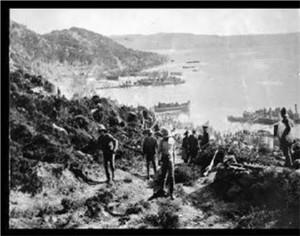 "Gallipoli ""beachhead..."""