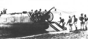 1938 Marine experimental landing craft     USMC image