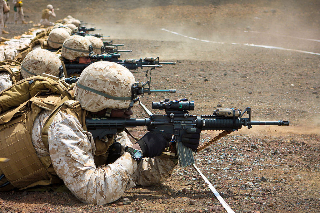 Marines Adopt M4 Grunts And Co