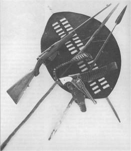 Burnham's weapons and trophies Matabele War