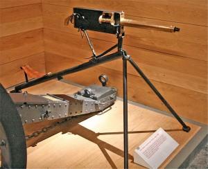 Belt Fed Maxim Gun, Light Mount